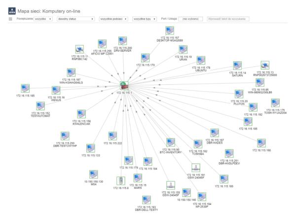 System XXI wieku eAuditor V7 WEB - Skaner Sieci