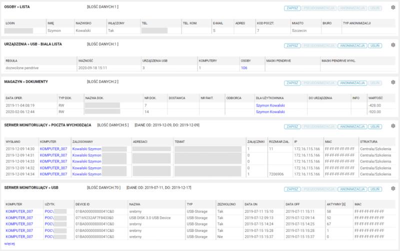 Pseudonimizacja danych osobowych wsystemie eAuditor
